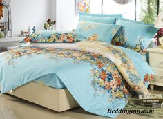 Retro Green 4 Piece Colorful Blooming Flowers Fitted Sheet Buy link=>http://goo.gl/BNukTY Live a better life, start with @beddinginn http://www.beddinginn.com/product/High-Quality-Retro-Green-4-Piece-Colorful-Blooming-Flowers-Fitted-Sheet-10759007.html