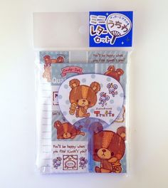 janetstore.com: kawaii stationery,letter sets, stickers, gifts and more - Kamio mini letter set with mini fan 4991277030349