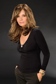 Jaclyn Smith, I love her hair style
