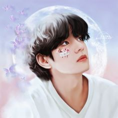 Taehyung Fanart, V Taehyung, Bts Jungkook, Maila, V Bts Wallpaper, Foto Jimin, Bts Aesthetic Pictures, Bts Drawings, Bts Playlist