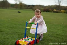 Princess Charlotte photographed by her Mother HRH Duchess of Cambridge