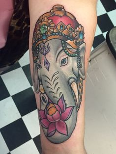 My Ganesha tattoo! Ganesha Tattoo, Pride Day, Tattoo Inspiration, Pagan, Tatoos, Henna, Piercings, Skull, Ink