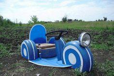 kids-car-with-repurposed-tires