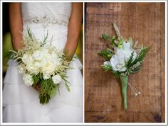 White wedding bouquet by Bergerons Flowers & Shelley's Floral Enterprise