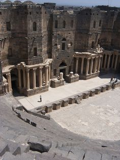 Theater at Bosra, Syria