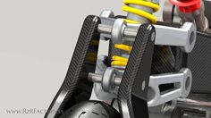 Image - Hossack fork virtual project by RzR - UNLIMITED Engineering - Skyrock.com