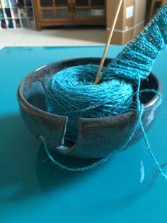 Yarn Bowl by KandLStudios on Etsy