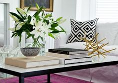 Censational Girl | Coffee table Styling