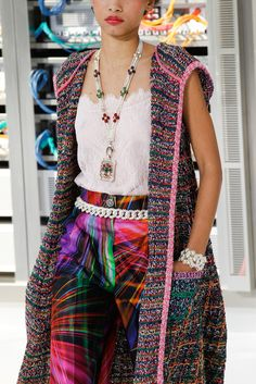 Chanel Primavera Verano 2017 Paris Fashion Week