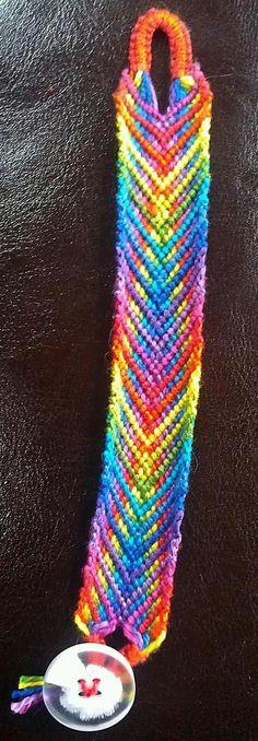 Added by TrueFalse Friendship bracelet pattern 7954