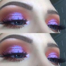 Makeup look using Huda Beauty Desert Dusk and Sephora pro editorial palettes