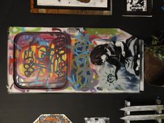 "Photos of ""Art in the Streets"" MOCA 2011 Banksy exhibit http://www.moca.org/audio/blog/?p=1883"