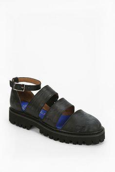 Jeffrey Campbell Undertone Caged Platform Sandal