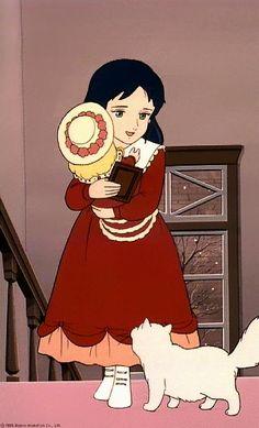Princesse Sarah est l'anime Japonais qui m'a le plus marquée dans mon enfance où j'ai pu découvrir le courage de cette gracieuse fillette malgré l'adversité et les brimades. Une histoire triste qui m'a tirée les larmes mais qui fini bien ^ - ^ , anime tiré du roman 'A Little Princess' par Frances Hodgson Burnett (1905), liens: http://www.little-princess-sara.net/novelF.html, http://fr.wikipedia.org/wiki/Princesse_Sarah