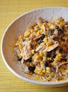 Super easy-to-make and family-friendly dinner:  Chicken Santa Fe #recipe