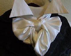 Wide REGENCY Brummel Victorian Ascot Tie Cravat by elegantascot