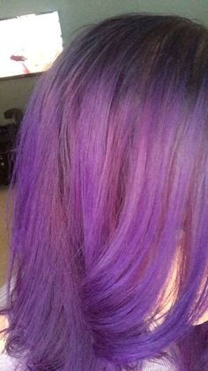 Light purple, rose purple, ombre. Beautiful transition with deep vibrant tones of purple.