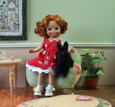Doll Clothes Dress for Tiny Betsy McCall and Ann Estelle
