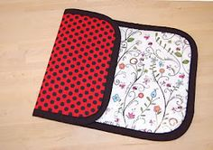 Miss Sews-it-all: Baby Changing Pad Tutorial
