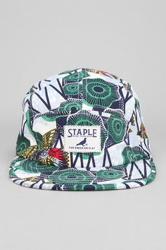 Staple Terrapin 5-Panel Hat #urbanoutfitters || British Indie Clothing - AcquireGarms.com