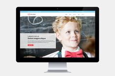 Kids Center Single Page Template by GT3 Themes on Creative Market