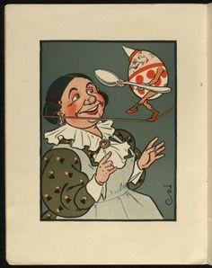 Public Domain Images - Denslow's Humpty Dumpty Vintage Children's Book from 1903 - Premium Member |Public Domain Images