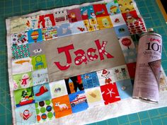 good idea for i-spy quilt