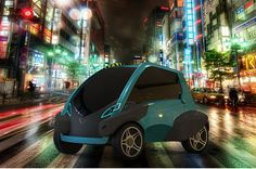 Compact Urban Bump Car comes with a front door and no dashboard ...