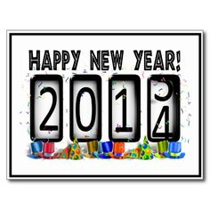sold ! 2014 New Years Odometer Postcards shipping to Canton, GA   #NEWYEAR #HAPPYNEWYEAR #newyear2014