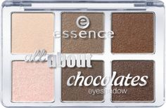 all about … eyeshadow palettes 05 chocolates - essence cosmetics