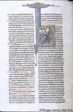 Bible, MS M.109 fol. 29v - Images from Medieval and Renaissance Manuscripts - The Morgan Library & Museum