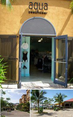 Aqua Beachwear @ Yacht Haven Grande, St. Thomas