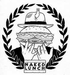 Jeremy Fish • Naked Lunch {Logo} – August 2009