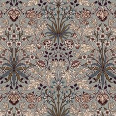 House of Hackney x William Morris Hyacinth Wallpaper | Jane Richards Interiors