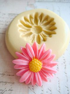 Daisy Blossom  Flexible Silicone Mold  Push Mold Jewelry by Molds, $6.00