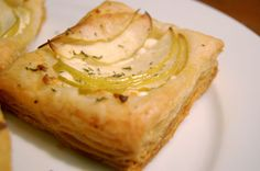 Goat Cheese and Apple Tart