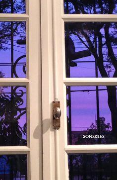 Atardecer de invierno en SONSOLES Windows, Winter Sunset, Ramen, Window