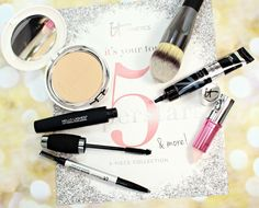 IT Cosmetics IT's Your Top 5 Superstars & More // QVC TSV #ITSuperstars - Blushing Noir Beauty Advice, Diy Beauty, Beauty Makeup, Makeup Sets, Beauty Recipe, Qvc, Bronzer, Best Makeup Products, Body Care