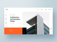 Architecture Web Exploration designed by Hashan . Connect with them on Dribbble; the global community for designers and creative professionals.