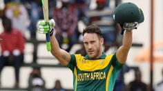 Triangular ODI Series: Faf du Plessis scores 121 as South Africa beat Zimbabwe to book final spot