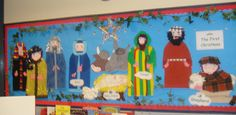 The First Christmas classroom display photo - Photo gallery - SparkleBox
