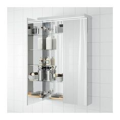 "GODMORGON Mirror cabinet with 2 doors - -, 23 5/8x5 1/2x37 3/4 "" - IKEA"