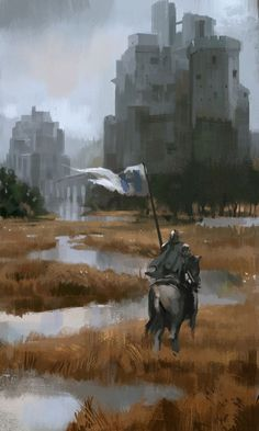 The twins game of thrones Fantasy Concept Art, Fantasy Artwork, Dark Fantasy, Fantasy Places, Fantasy World, Medieval Art, Medieval Fantasy, Arte Game Of Thrones, Knight Art