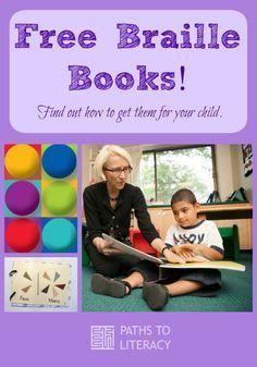 Sources for free braille books for children who are blind or visually impaired