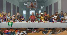 La Cène... en version NBA   VICE Sports