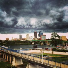 Storm Clouds Over Little Rock  South  Nature by MDSPhotos on Etsy