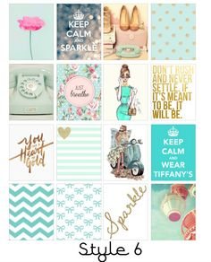 Fashion Icon Erin Condren Stickers by LittleSurpriseShop on Etsy