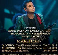 A R Rahman Postpones UK Tour