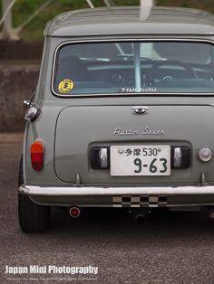 Mini Japan Photography Cooper Car, Mini Cooper Clubman, Mini Countryman, Mini Cooper Classic, Classic Mini, Mini Morris, Mini Lifestyle, Austin Seven, Mini Copper