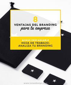 Descubre como ahorrar y convertir tu empresa en marca potente gracias al branding. Analiza tu branding con la ficha de trabajo gratis de Lunes.